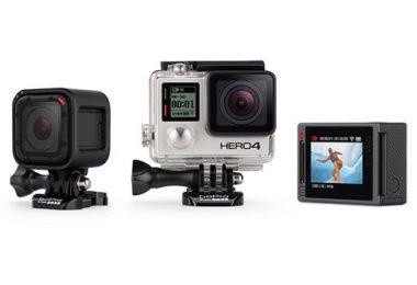 différents types de caméras sport