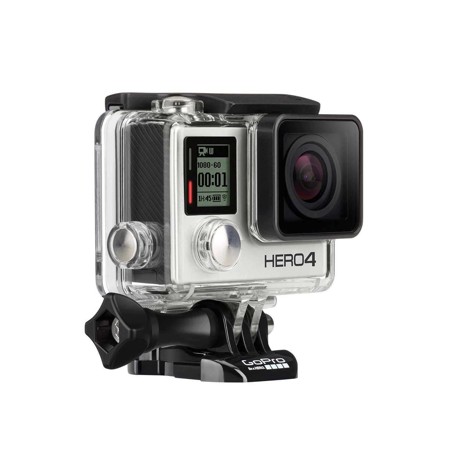 prise en main gopro hero4 silver action cam