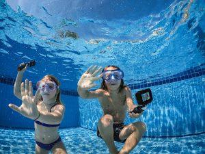 GoPro hero5 black caméra sport sous l'eau
