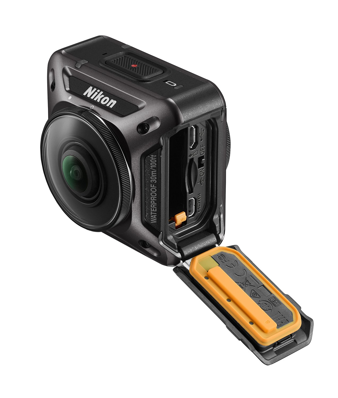 nikon keymission 360 prise en main action camera