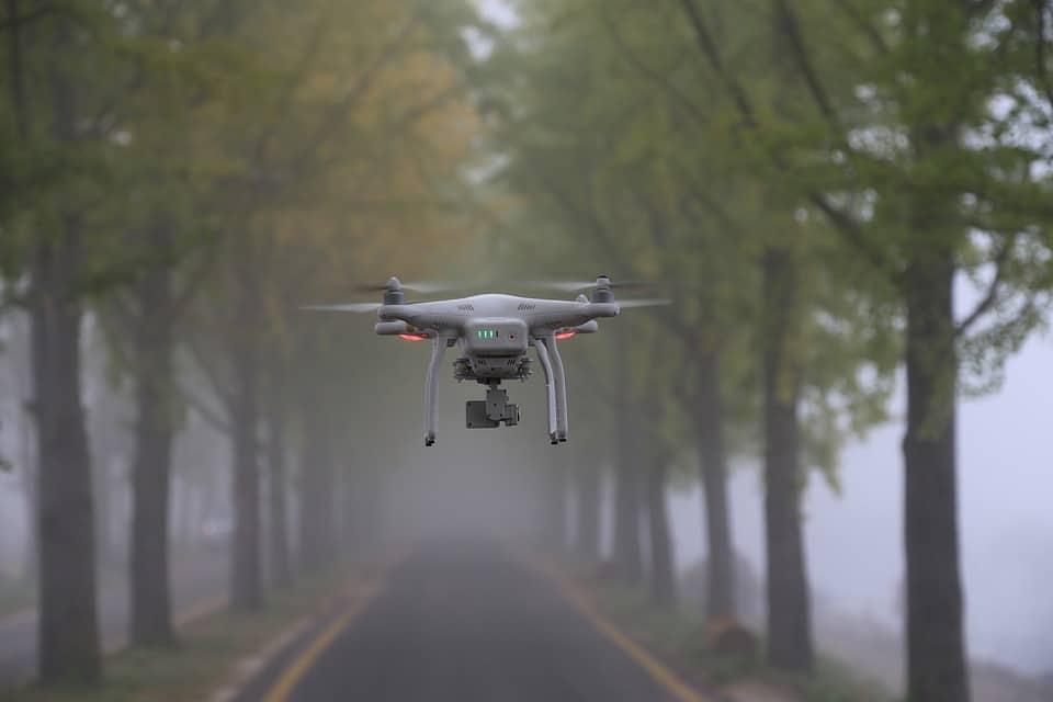 meilleur drone en action