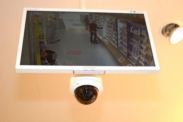 kit caméra de surveillance dôme